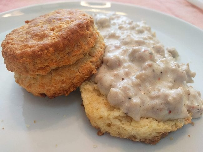 atmimistable buttermilk biscuits and gravy 5